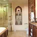 Красивый интерьер ванной комнаты