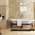 Материалы для отделки стен ванной комнаты