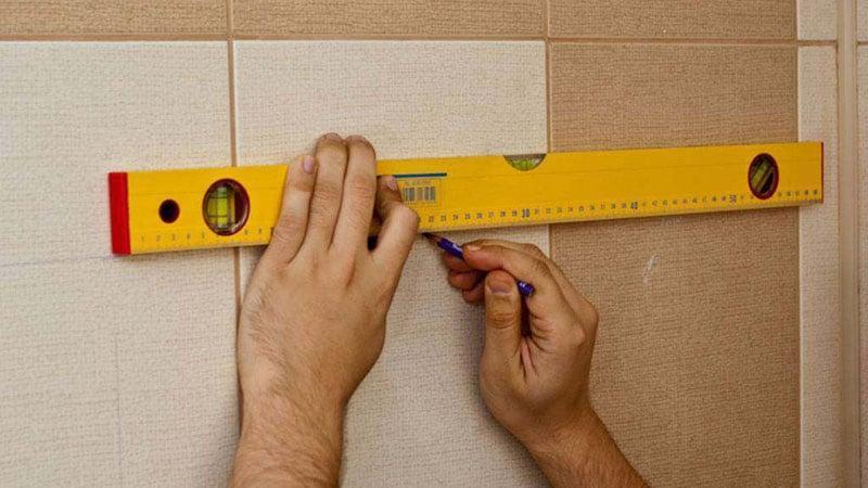 Крепление навесных шкафов в ванной комнате