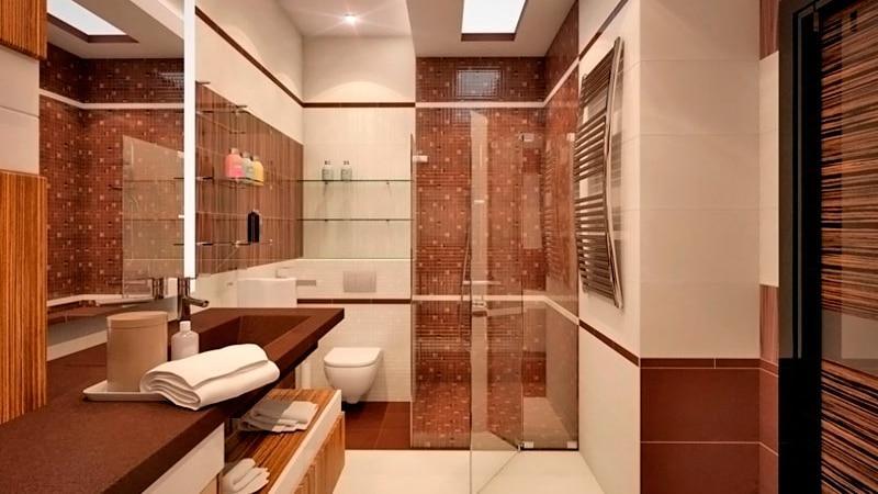 Стены в ванной из чего лучше делать