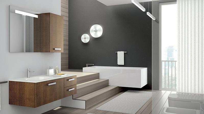 Примеры отделки кафелем ванной комнаты и туалета