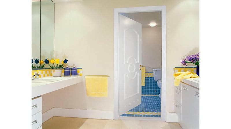Пластиклвые двери в ванную