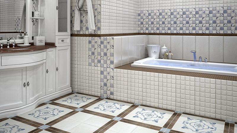 Напольный кафель для ванной