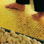Плитка под золото
