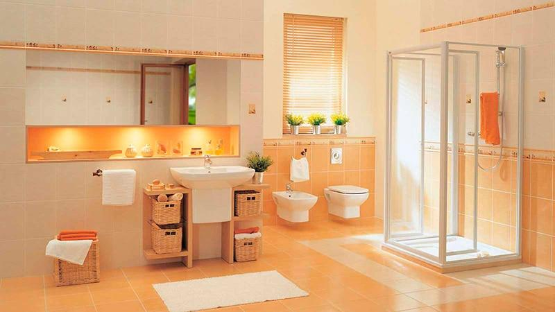 Польская плитка в ванной