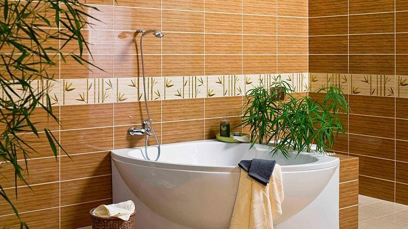 Размеры кафельной плитки для ванной