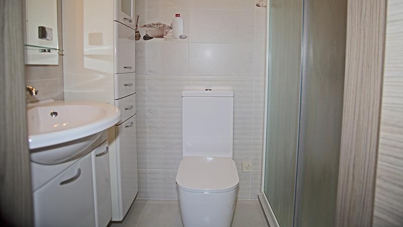 Фото туалета после ремонта плиткой