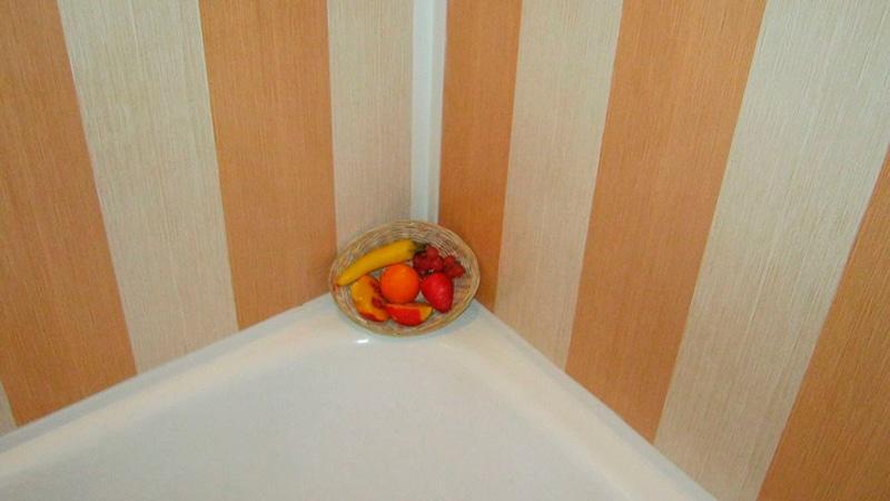 ремонт ванны и туалета панелями пвх