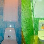 Ремон туалета пластиком