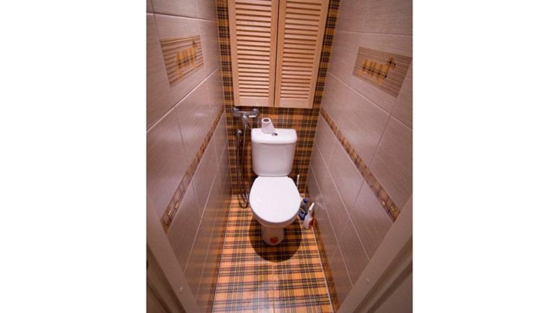 Ремонт в туалете пвх панелями