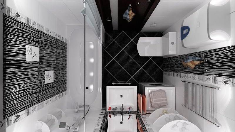 Маленькоая ванная - ремонт