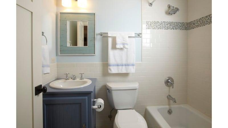 Ремонт в ванне хрущевки
