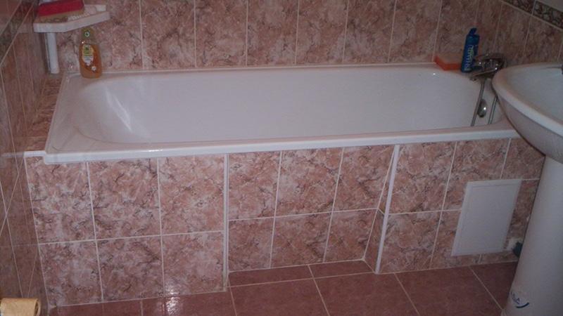 Декоративный экран под ванну