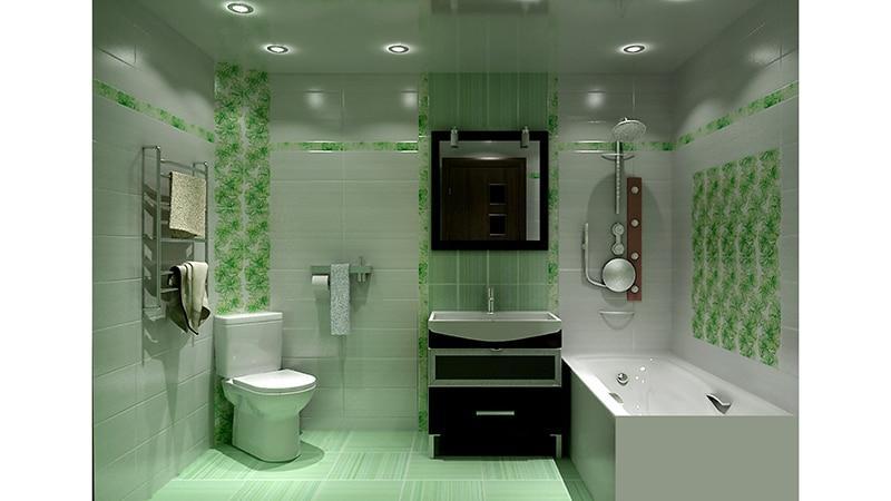 Ремонт в небольшой ванной