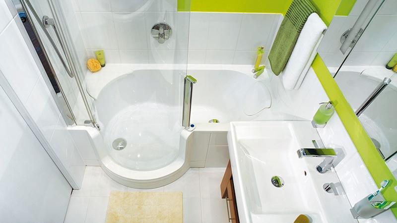 Ремонт в хрущевке в ванной комнате своими