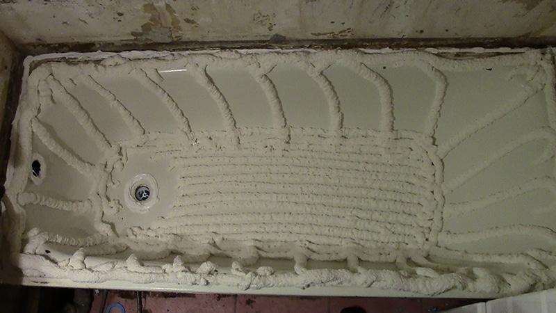 Обновление акриловых ванн