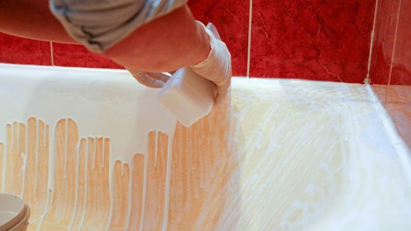 Реставрируем ванну акрилом