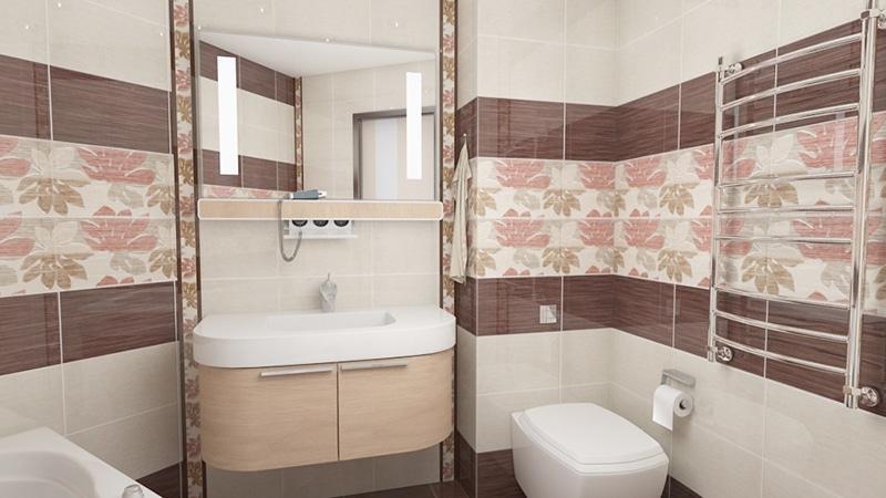 Самая дешевая плитка для ванной комнаты