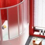 Разновидности стеклянных экранов для ванн