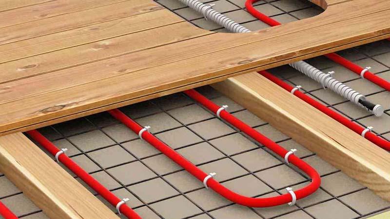 Теплый пол электрический на деревянный пол своими руками видео