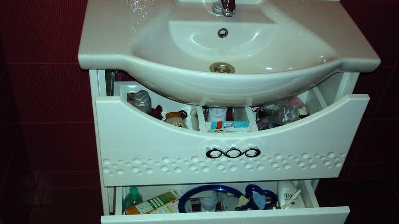 Напольный шкафчик под раковиной