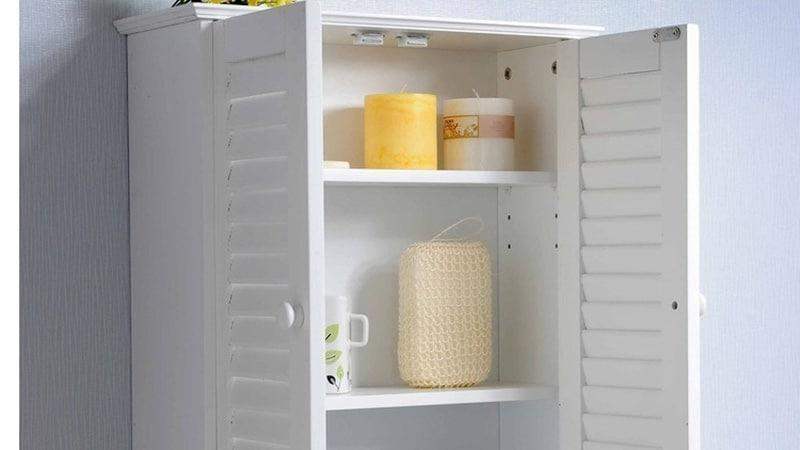 Шкаф в ванную комнату навесной: уход, фурнитура, материалы.