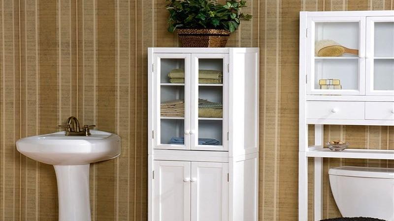Шкафчики для ванной в стиле прованс
