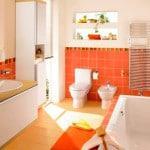 Укладка плитки ванной комнаты