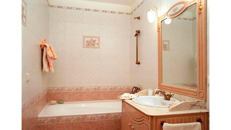 Варианты декора ванной