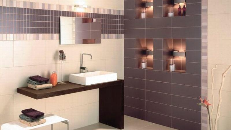 Укладка плиткой ванной комнаты
