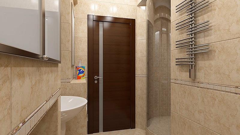 Двери для ванной дизайн