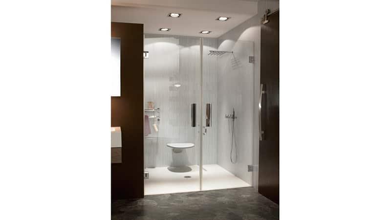 Установка дверей в ванную