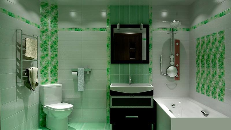 Интерьер ванной комнаты варианты