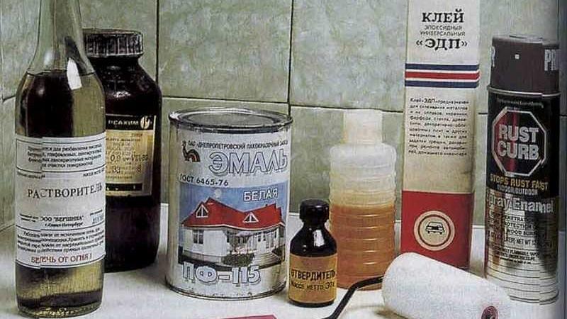 Восстановить эмаль ванны своими руками