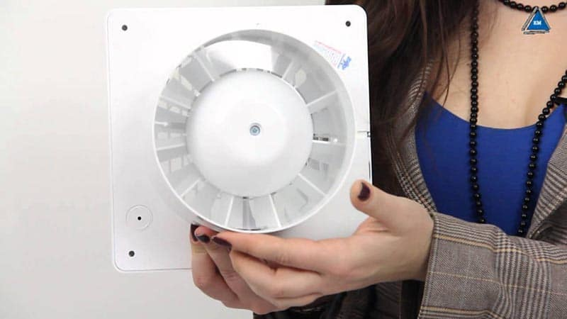 Вытяжной вентилятор в ванную комнату