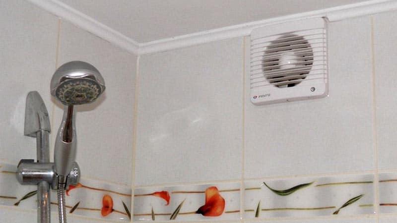 Вытяжные вентиляторы в туалет и ванную