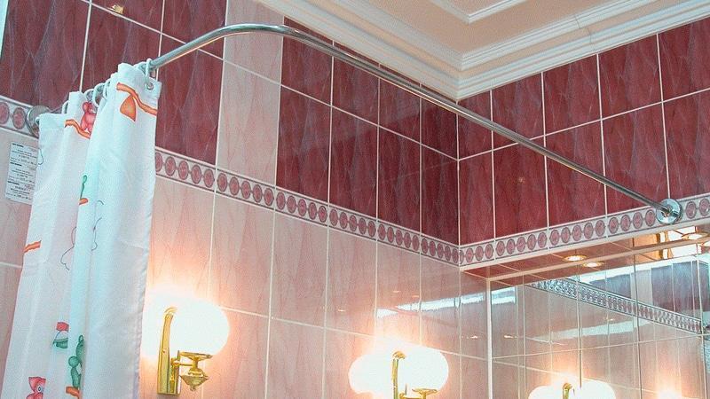 Занавески в ванную комнату