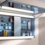 Фурнитура шкафчика с зеркалом