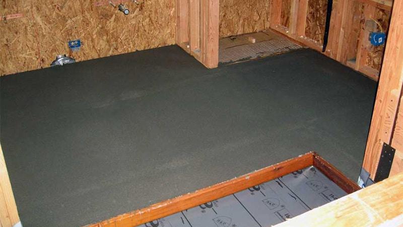 Гидроизоляция напольного покрытия