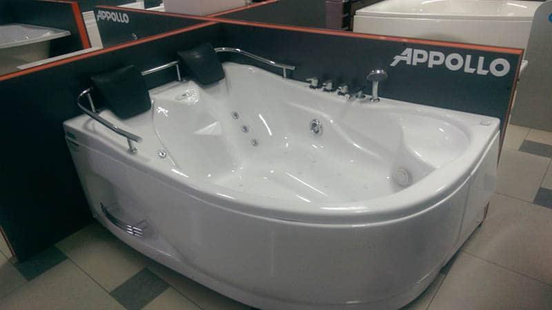 Гидромассажные ванны разных производителей