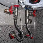 Монтаж оборудования для горячей воды