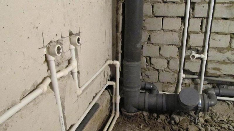 Способы укладки труб водопровода