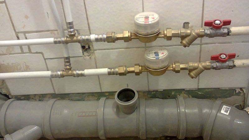 Установка систем холодного и горячего водоснабжения