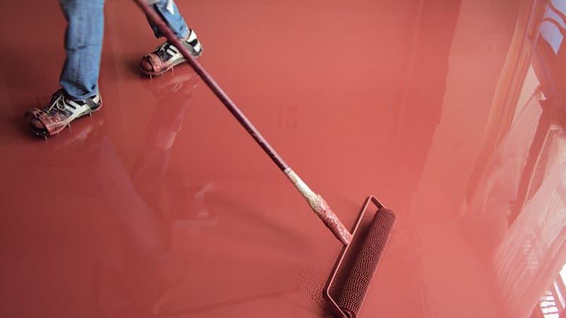 Инструменты, необходимые для укладки заливного пола