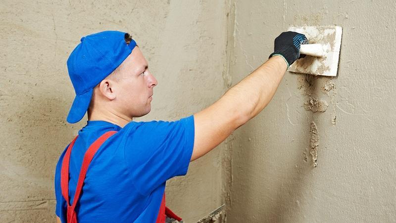 Подготовка стен в ванной под покраску