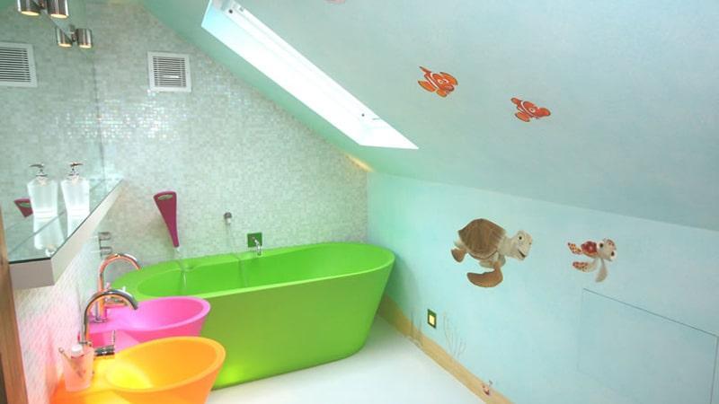 Можно ли красить стены в ванной