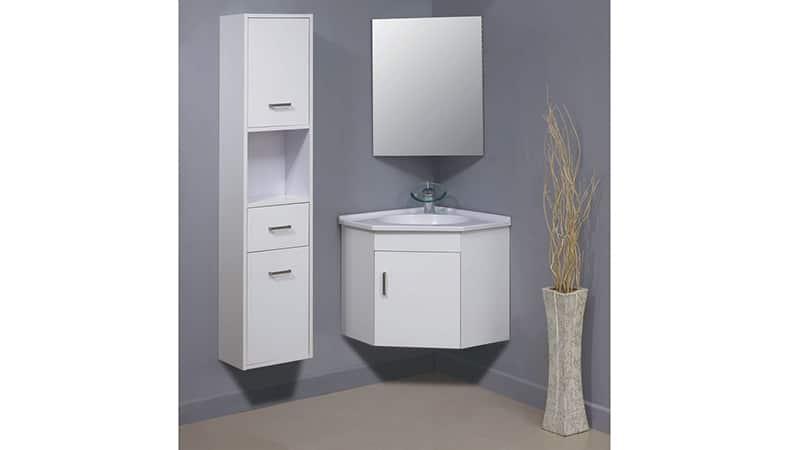 Мебель для ванной комнаты небольшого размера