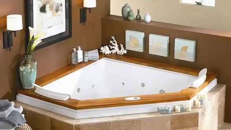 Формы угловых ванн