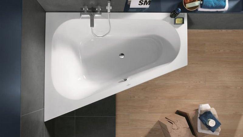 Дизайн угловых ванн