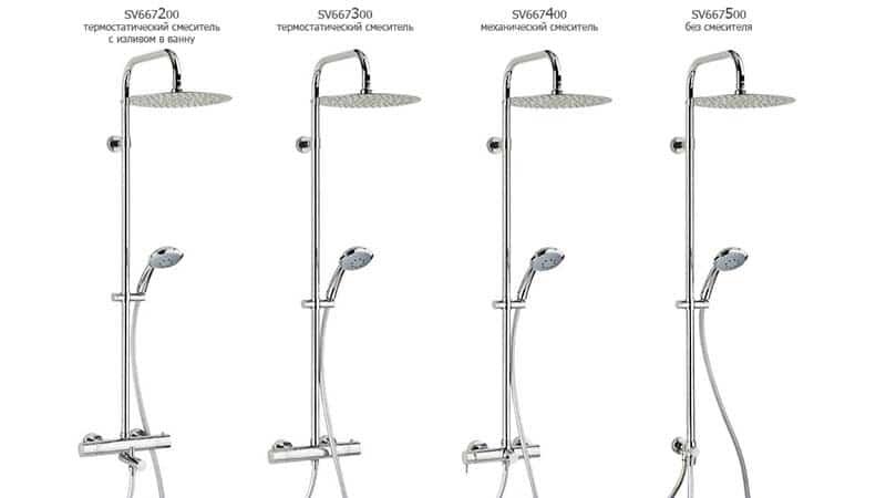 Тропический душ в ванной комнате дизайн фото